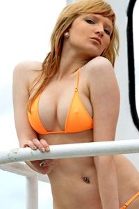 Skinsix BWO 180 Top matt orange Neckholder