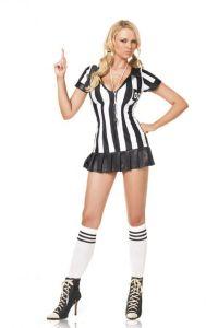 Leg Avenue 83067 Schiedsrichterin Kostüm 3-teilig