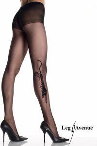 Leg Avenue 9314 Tiger Tattoo Strumpfhose Strassaugen
