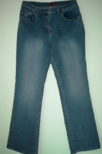 JET-LINE DAMEN JEANS IN USED OPTIK