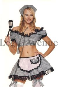 Leg Avenue 8065 5-Teiler Freches Hausfrauenkostüm Gr. M/L