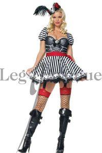 Leg Avenue 83378 Super sexy Piraten Frau Kostüm Gr. S