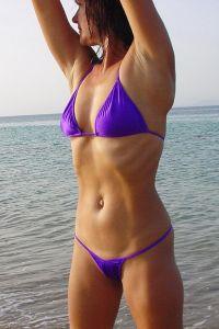 bikinini T300-XL Mini Tanga Bikini mit Top XL