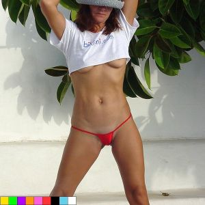 bikinini G500 Mini G-String verschiedene Farben