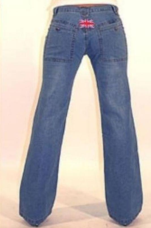 edelstore hellblaue damen tiger jeans. Black Bedroom Furniture Sets. Home Design Ideas
