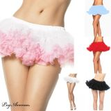 Leg Avenue 8993 Puffy Chiffon Mini Petticoat One Size various colours
