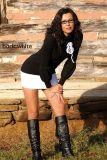 SKINSIX SW 440 Minikleid Longshirt Daria