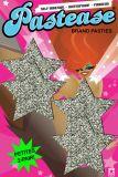 Pastease® Original Marken kleine Pasties 2 Paar Star Stern silber glitzernd