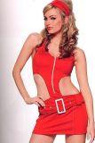 Leg Avenue 83144 Heißes rotes Soda Pop Girl Kostüm Gr. L