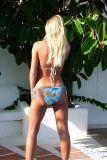 bikinini T502T-S Brazilian Tanga Bikini Tie Sunshine S
