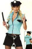 Leg Avenue 83134 Sexy 6-teiliges Polizistinkostüm Gr. S