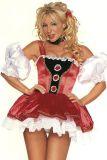 Leg Avenue 8977 Alpen Mädchen Kleid mit Petticoat Gr. M