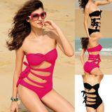 Dear-lover 40382 Super Sexy Geheimnis Badeanzug schwarz oder violett-rot