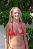bikinini B300 Mini Bikini Top Gr. S rot x Sonderangebot